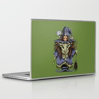 witch Laptop & iPad Skins featuring Witch by Kape