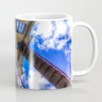 victorian Mugs featuring Victorian London by David Pyatt