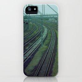 Russia. Railway. iPhone Case