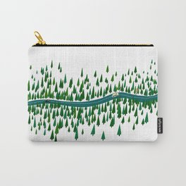 Jeju Forest Carry-All Pouch