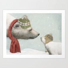 First Winter Art Print