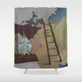 Coco's Lion Shower Curtain