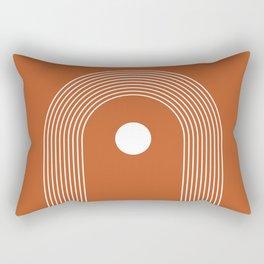 Abstract Boho Rainbow Art Rectangular Pillow