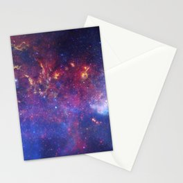 the milky hand of the spiral   space 010 Stationery Cards