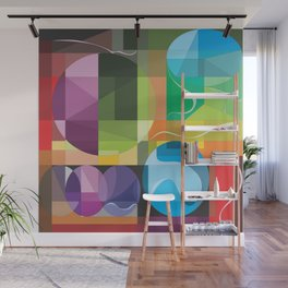 Color Lenses 1 by FreddiJr Wall Mural