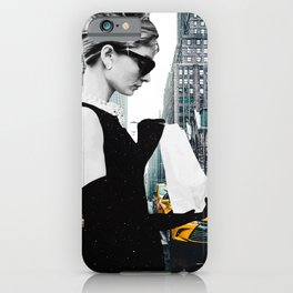 """""""Audrey In The City"""" Photo Montage iPhone Case"""