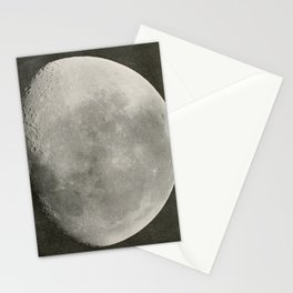 The Adolfo Stahl lectures in astronomy (1919) - The Moon, 19 Days old, August 1893 Stationery Cards