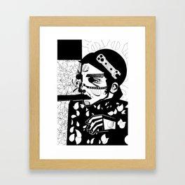 SELF-ABANDONMENT Framed Art Print