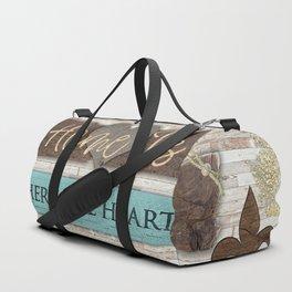 Where the Heart Is Duffle Bag