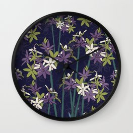 Society Garlic Wall Clock