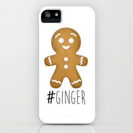#Ginger iPhone Case