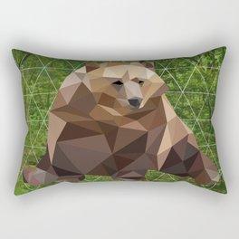 Bear in the woods Rectangular Pillow