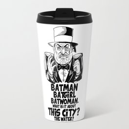 Classic Oswald Cobblepot: The Penguin Travel Mug