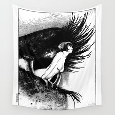asc 602 - La spectatrice (Valentina at the gallery) Wall Tapestry