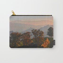 Hilly Landscape Carry-All Pouch