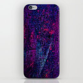 Doodlez on Chaos One iPhone Skin