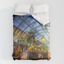 The Apple Market Covent Garden London Comforters