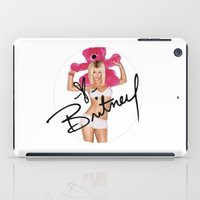 britney iPad Cases featuring Britney Spears by BlessingO