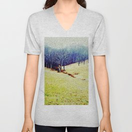 Brandywine Landscape Unisex V-Neck