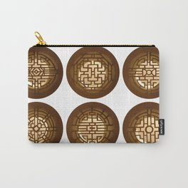 Chinese windows (Fenêtres chinoises) Carry-All Pouch