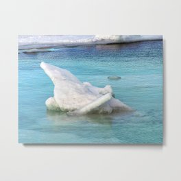 Ice Pile-Up  Metal Print