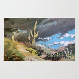 Sonoran Desert Storm Rug