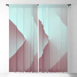 Modern Geometry No 27 Blackout Curtain