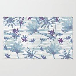 Sea floral  print Rug