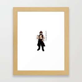 Red Riot Ink Framed Art Print