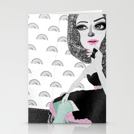 Confessions of a shopaholic  Stationery Cards