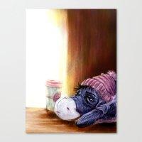 eeyore Canvas Prints featuring eeyore by Julian