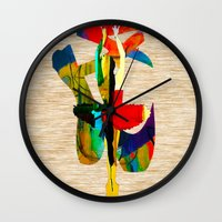 ballet Wall Clocks featuring Ballet by marvinblaine