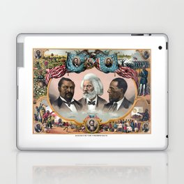 Heroes Of The Colored Race Laptop & iPad Skin