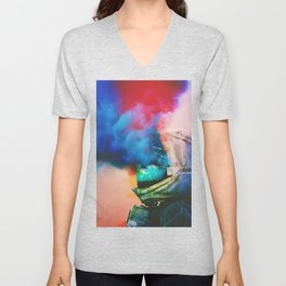 Dusted Unisex V-Neck