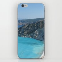 greece iPhone & iPod Skins featuring Greece by Melia Metikos