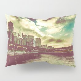 Seattle Pike Place Market Pier 57 Pillow Sham