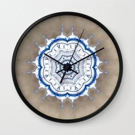 Kremlin Inspired Mandala Wall Clock