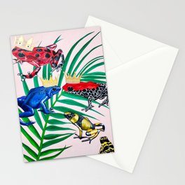 Frog Painting Stationery Cards