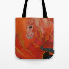 Horse Without a Name Tote Bag