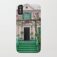 monet iPhone & iPod Cases featuring Monet House by Rachael Nicole