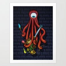 Delver RPG Art Print