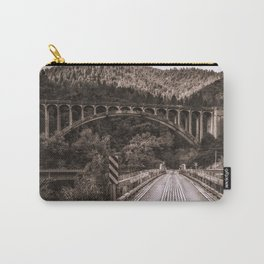 Dog Creek and Fenders Ferry Bridges Carry-All Pouch