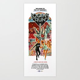 Logan's Run Art Print