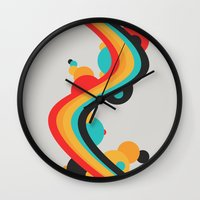 Summer Boom Wall Clock