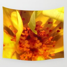 Pollen Macro Photography By Saribelle Rodriguez Wall Tapestry