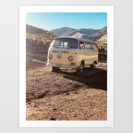 Camp Cabernet Art Print