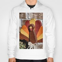 turkey Hoodies featuring Turkey Day by IowaShots