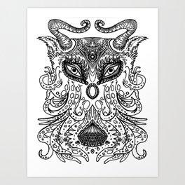 Demiurge Art Print