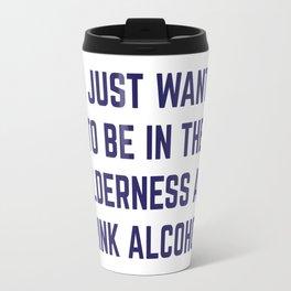 Wilderness & Booze Travel Mug