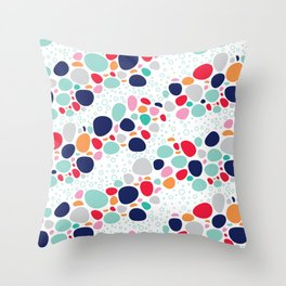 BP 7 Pebbles Throw Pillow